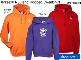 Jerzees® NuBlend Hooded Sweatshirt
