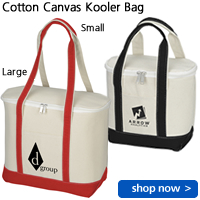 Cotton Canvas Kooler Bag
