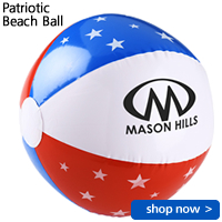 Patriotic Beach Ball