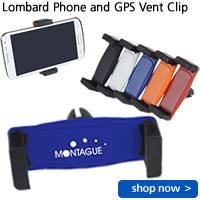 Lombard Phone and GPS Vent Clip