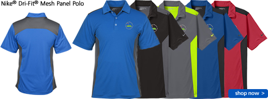 Nike® Dri-Fit® Mesh Panel Polo