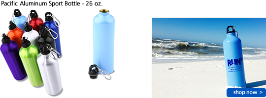 Pacific Aluminum Sport Bottle - 26 oz.