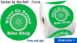 Sticker by the Roll – Circle