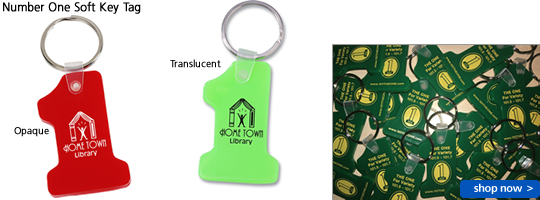 Number One Soft Key Tag