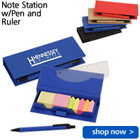 Note Station w/Pen and Ruler