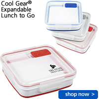 Cool Gear® Expandable Lunch to Go