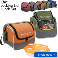Chic Locking Lid Lunch Set