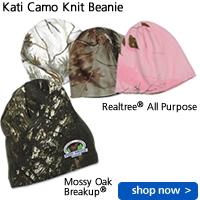 Kati Camo Knit Beanie