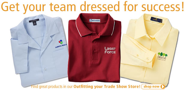 Get your team dressed for success!