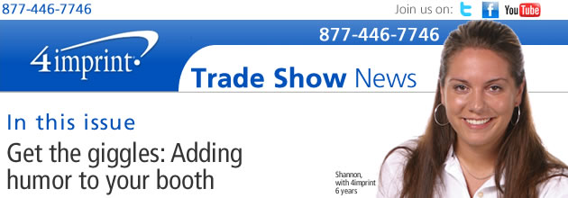 Get the giggles: Adding humor to your booth