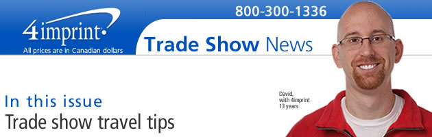 Tradeshow travel tips
