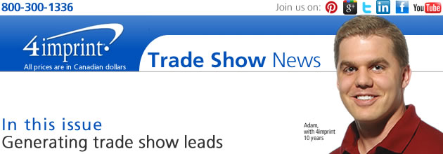 Generating trade show leads