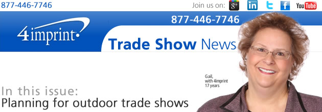 Planning for outdoor trade shows