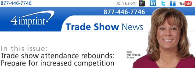 Trade show attendance rebounds: Prepare for increased competition