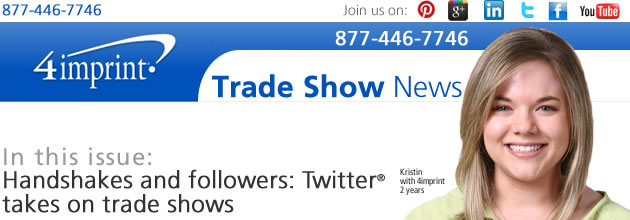 Handshakes and followers: Twitter℠ takes on trade shows
