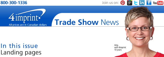 Trade show: Landing pages