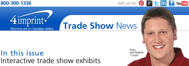 Trade show: Interactive trade show exhibits
