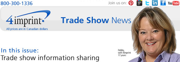 Trade show information sharing