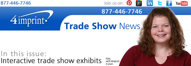Interactive trade show exhibits