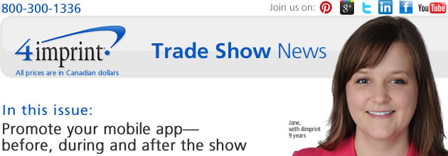 Trade shows: Promote your mobile app—before, during and after the show