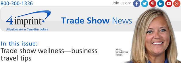 Trade show wellness: Business travel tips