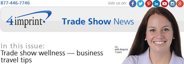 Trade-show wellness: Business travel tips