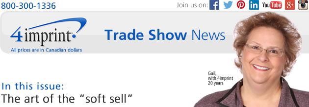 "Trade show sales: The art of the ""soft sell"""