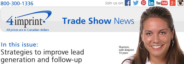Trade show: Strategies to improve lead generation and follow-up