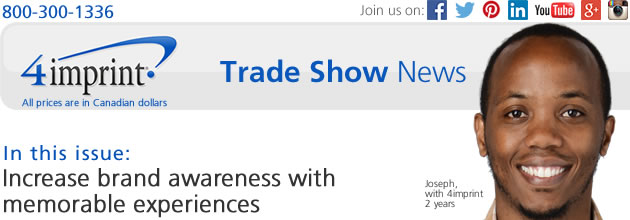 Trade Show News: Increase brand awareness with memorable experiences