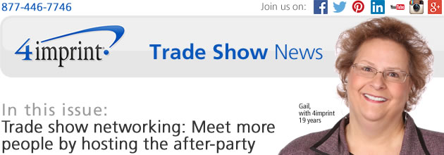 Trade show networking: Meet more people by hosting the after-party