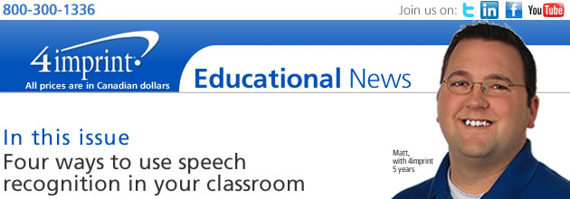 Four ways to use speech recognition in your classroom
