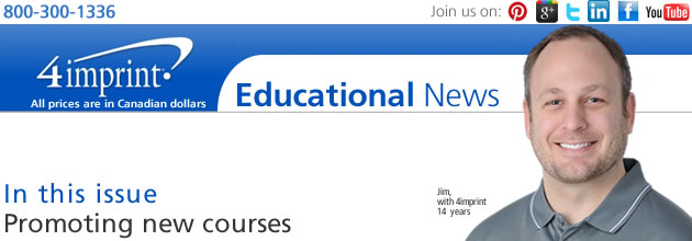 Promoting new courses