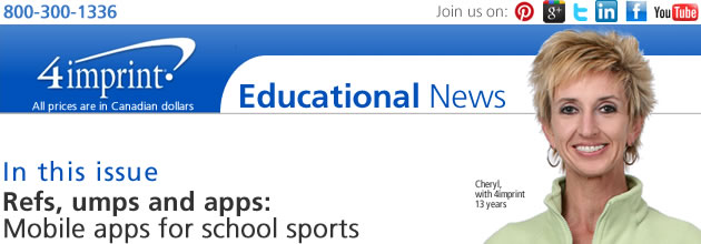 Refs, umps and apps: Mobile apps for school sports