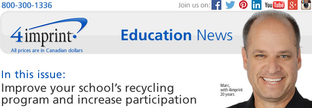 Education News: Improve your school's recycling program and increase participation