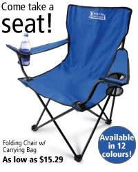 Folding Chair w/ Carrying Bag #C8772