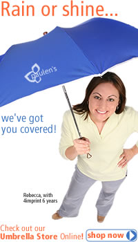 Rain or shine... we've got you covered! Check out our umbrella store online.