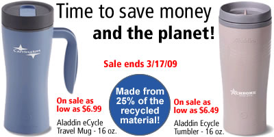 Time to save money and the planet!