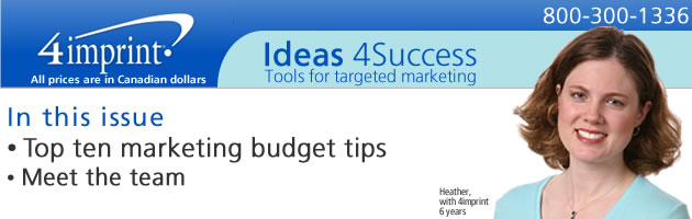 Top ten marketing budget tips