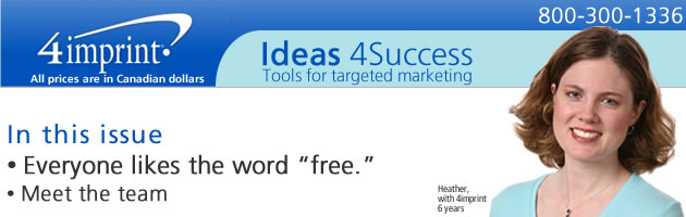 """Everyone likes the word """"free."""""""