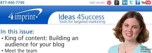 King of content: Building an audience for your blog