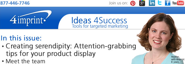 Creating serendipity: Attention-grabbing tips for your product display