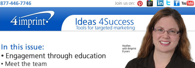 Engagement through education