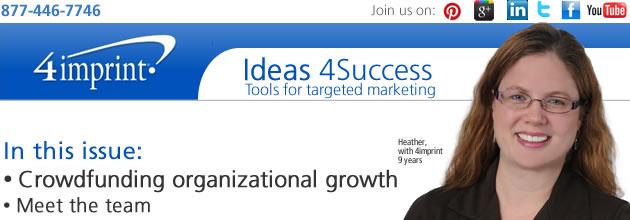 Crowdfunding organizational growth