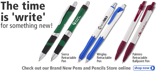 The time is write for a new pen!