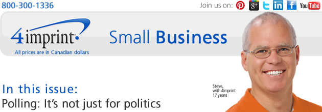 Small Business News: Polling: It's not just for politics