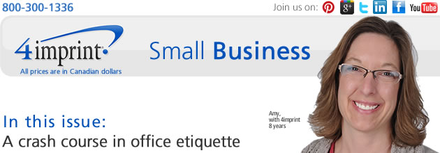 Small Business News: Polling: A crash course in office etiquette
