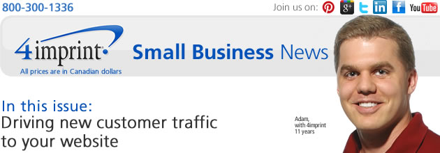Driving new customer traffic to your website