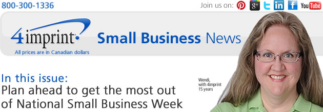 Plan ahead to get the most out of National Small Business Week