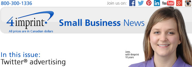 Small Business News: Twitter® advertising