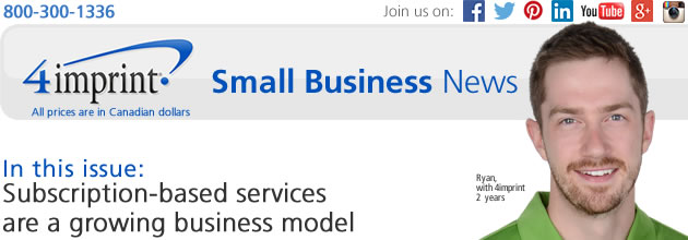 Small Business News: Subscription-based services are a growing business model